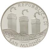 5 Euro Herdenkingsmunten San Marino