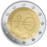 2 Euro Herdenkingsmunten Malta