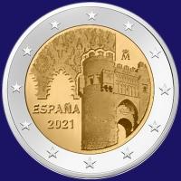 Spanje 2 euro 2021 I Unc
