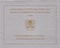 Vaticaan 2 euro 2020 I Bu.